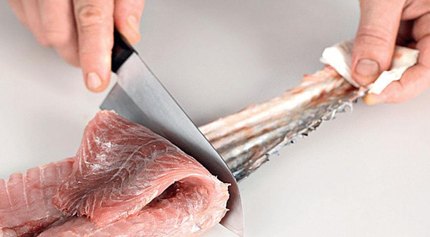 Как разделать рыбу на филе