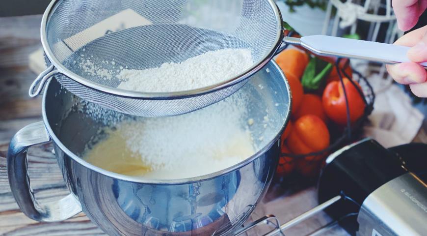 Фантастически вкусный пирог с абрикосами и рикоттой. Фирменный семейный рецепт