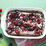 17240 Быстрые творожные пироги на «раз-два» – без дрожжей и замешивания