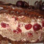 17652 Рецепт: Торт пьяная вишня