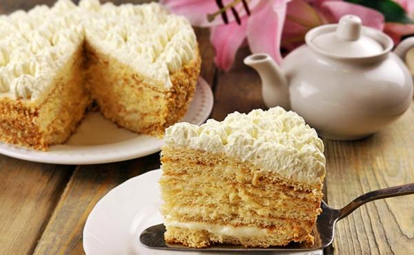 17643 Рецепт: Торт молочная девочка