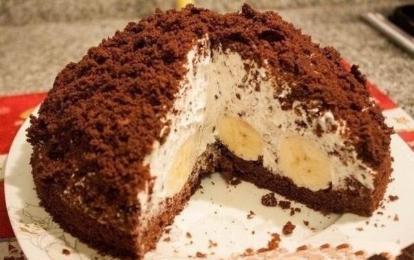 17696 Рецепт: Торт норка крота