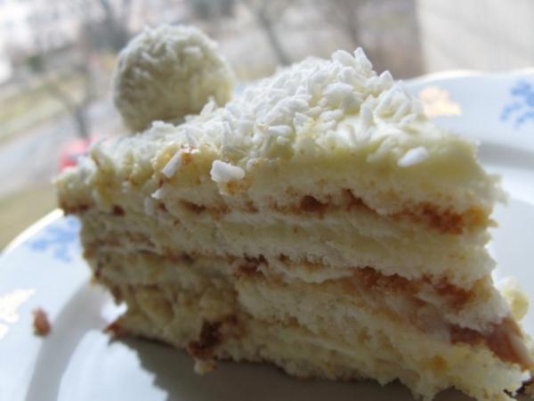 17735 Рецепт: Торт рафаэлло