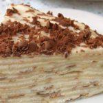 17621 Рецепт: Торт блинный с творожным кремом