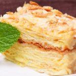 17437 Рецепт: Торт «Наполеон» по классическому рецепту — десерт, который тает во рту