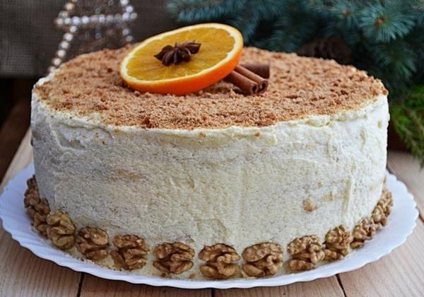 17577 Рецепт: Торт творожный