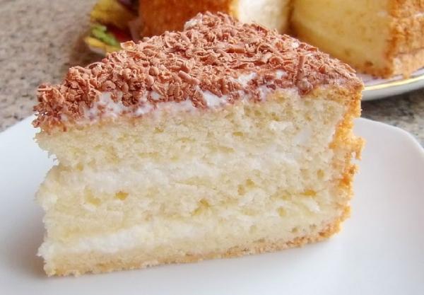 17476 Рецепт: Торт сметанный