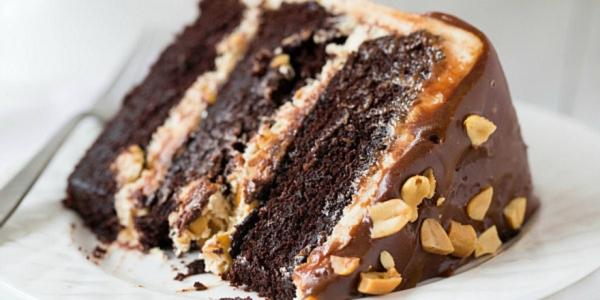 17561 Рецепт: Торт сникерс