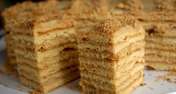 17607 Рецепт: Торт дамский каприз