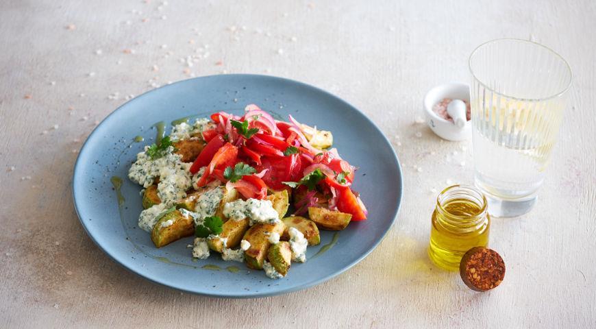 Кабачки с помидорами: 5 лучших рецептов