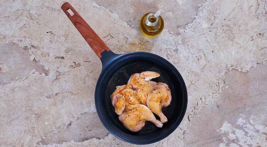 Как приготовить сочного цыпленка в тесте. Мастер-класс