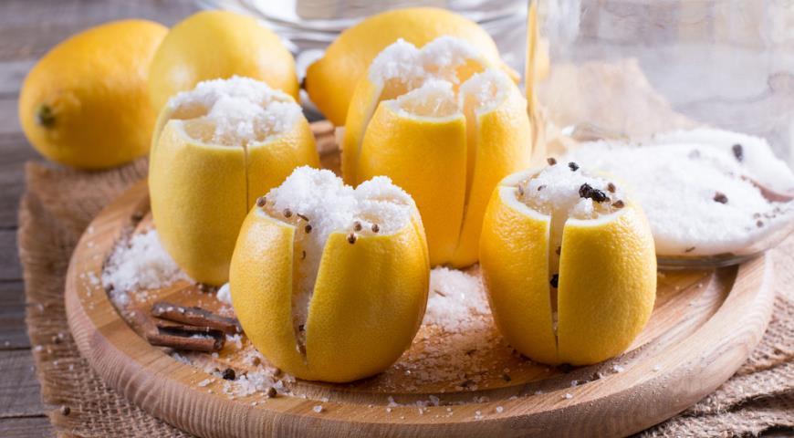 19099 Зимние заготовки. Солим, маринуем, варим лимоны и готовим с ними необыкновенно вкусные блюда