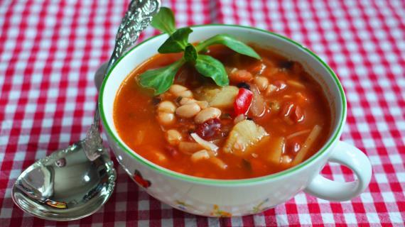 19332 Постные супы из бобовых