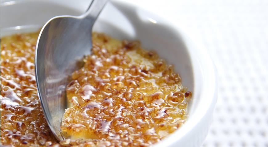 Что за вкус у крем-брюле и почему оно так называется?